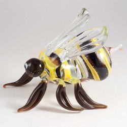 Пчела фигурка стеклянная, фото 1