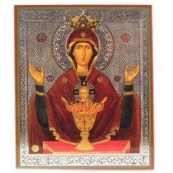 Икона Божья Матерь Неупиваемая Чаша