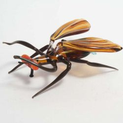 Комар стеклянная фигурка, фото 1