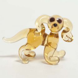 Собачка стеклянная фигурка, фото 1
