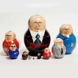 Матрешка президент России Путин, фото 1