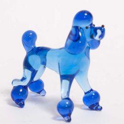Синий пудель