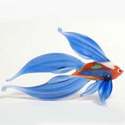 Рыба фигурка синяя, фото 1