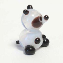 Панда стеклянная фигурка, фото 1