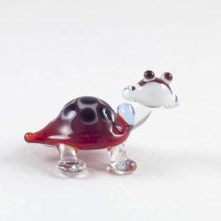 Черепаха стеклянная фигурка