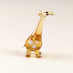 Жираф стеклянная фигурка