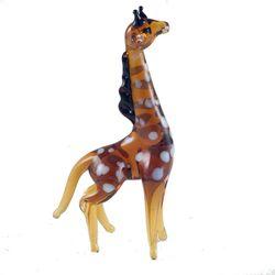 Cтеклянная фигурка жираф, фото 1