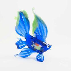 Рыбка синяя фигурка, фото 1