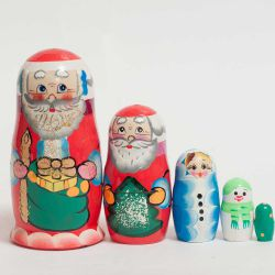 Дед Мороз Матрешка, фото 1