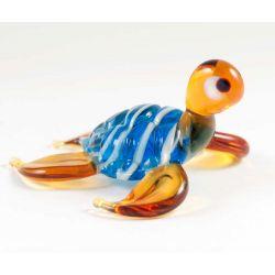 Сине-коричневая черепаха морская, фото 1