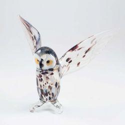 Фигурка из стекла Полярная сова, фото 1