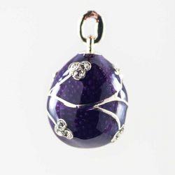 Кулон Ветка на фиолетовом фоне, фото 1
