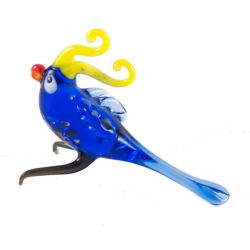 Стеклянная фигурка Попугай, фото 1
