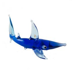 Акула стеклянная фигурка, фото 1