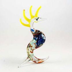 Стеклянная фигурка Морской конек, фото 1