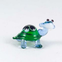 Черепашка стеклянная зеленая, фото 1