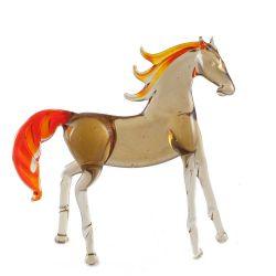 Конь стеклянная фигурка, фото 1