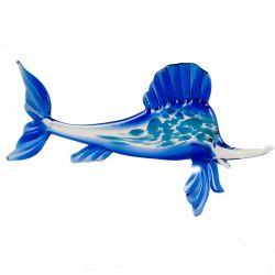 Рыба парусник синяя, фото 1
