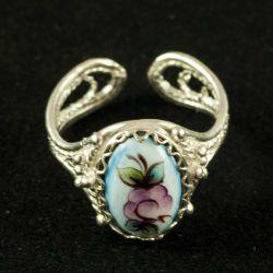 Кольцо эмалевое Закат, фото 1