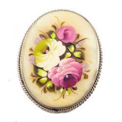 Брошка две розы, фото 1