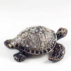 Шкатулка Черепаха черная, фото 1