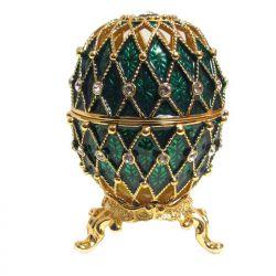 Яйцо Ажурная сетка, зеленое, фото 1