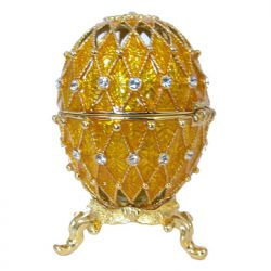 Яйцо Ажурная сетка, золотое, фото 1