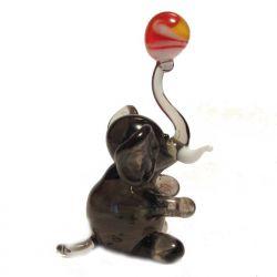 Слон с мячом, фото 1