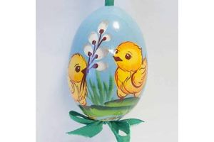 Пасхальные расписные яйца