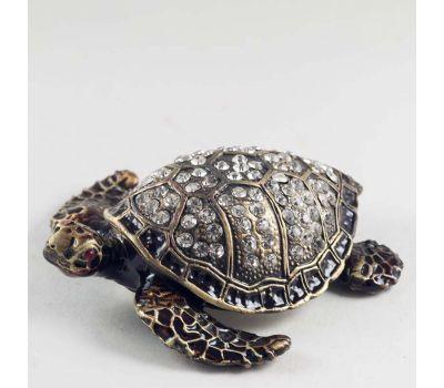 Шкатулка Черепаха черная, фото 3
