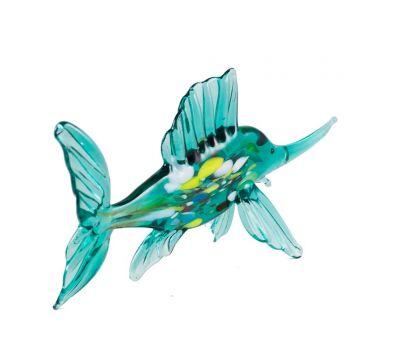 Рыба парусник зеленая, фото 2