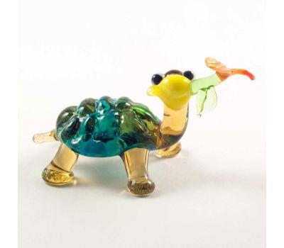 Веселая черепаха с цветочком, фото 2