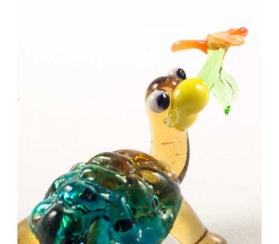 Веселая черепаха с цветочком, фото 4