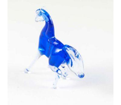Конь синий фигурка, фото 3